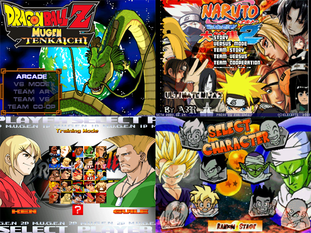 Mugen Download All Characters Free