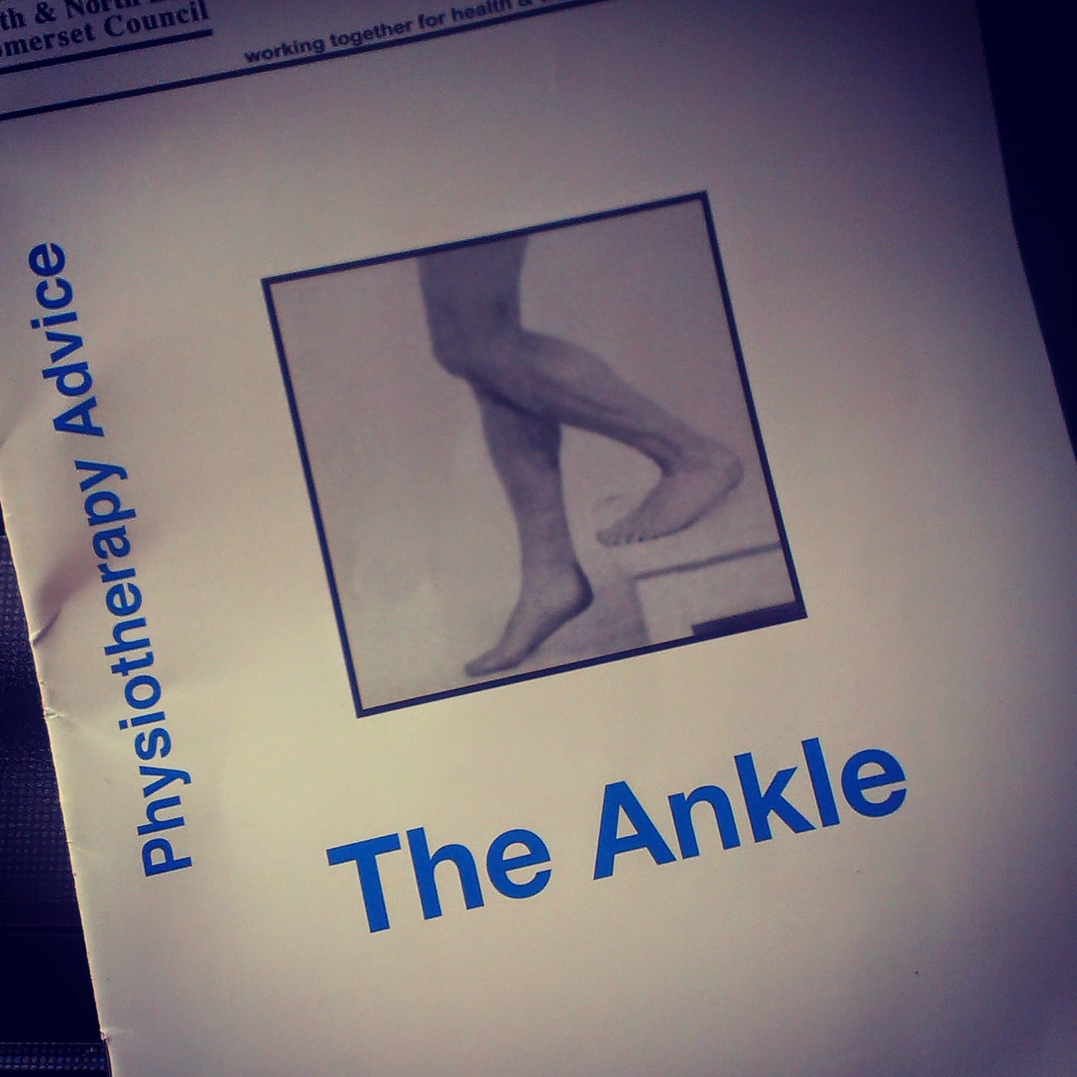 Physiotherapy ankle leaflet