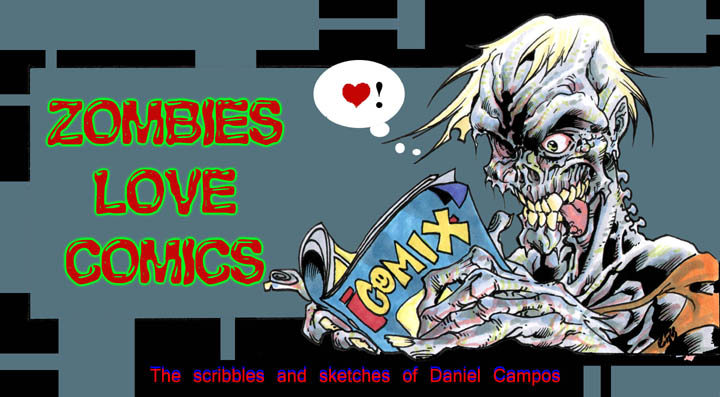 Zombies Love Comics