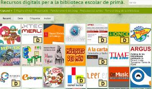 Recursos digitals per a la biblioteca escolar de Primària