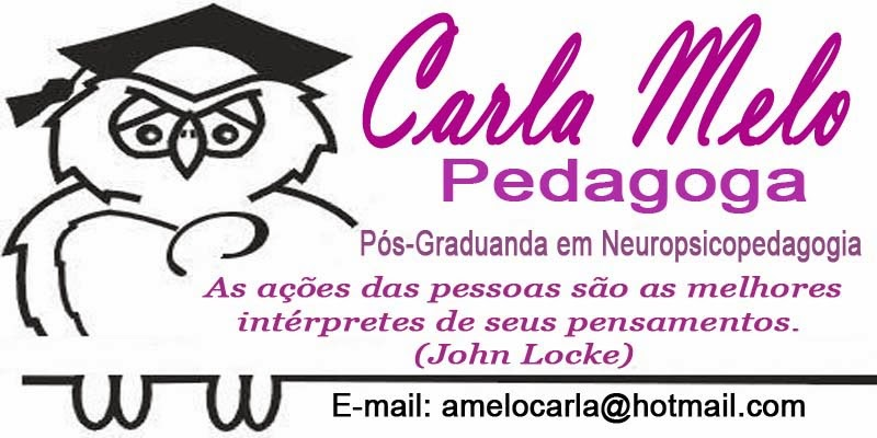 Pedagoga Carla Melo