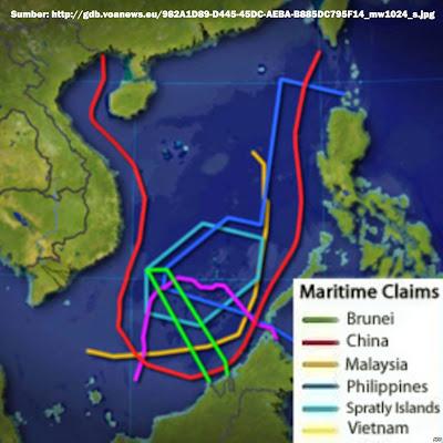 Peta Konflik Laut Cina Selatan