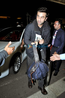 Photos: Ranbir Kapoor & Katrina leave for New Year celebration