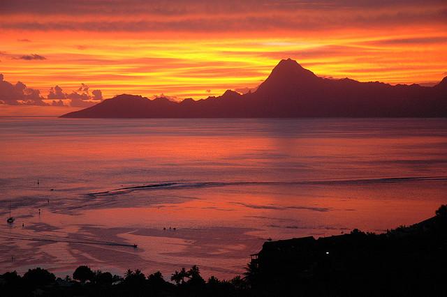16 fotos do pôr do sol ao redor do mundo