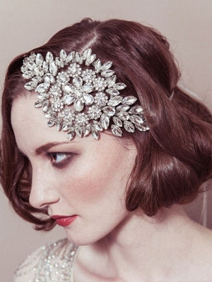 peinados novias accesorios