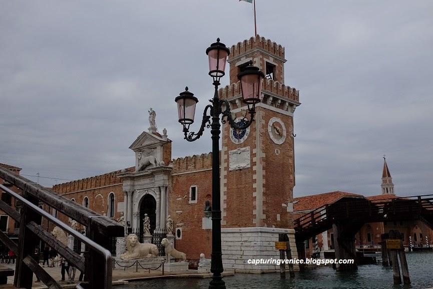 Gates to the Arsenale Venice capturingvenice.blogspot.com