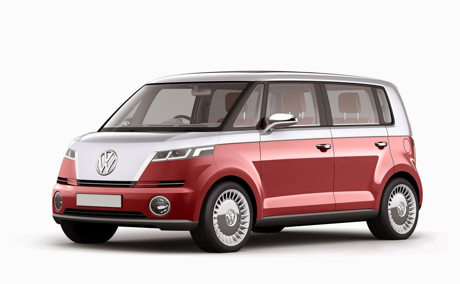 Volkswagen Bulli Microbus Concept Car Reviews New Car
