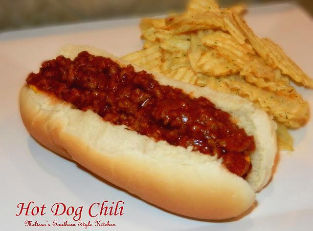 Hot Dog Chili - melissassouthernstylekitchen.com
