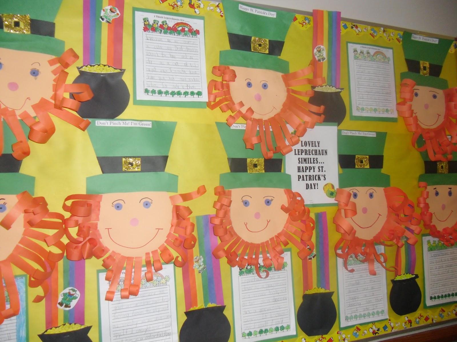 patties classroom st patricks day leprechauns and writing