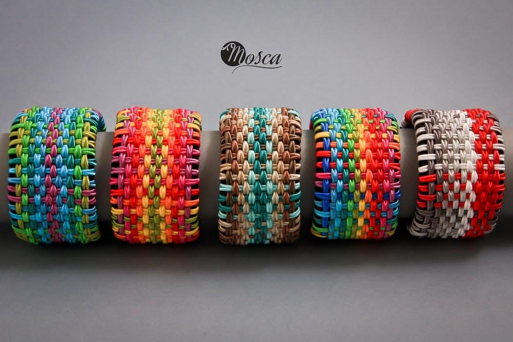 kolorowe bransolety