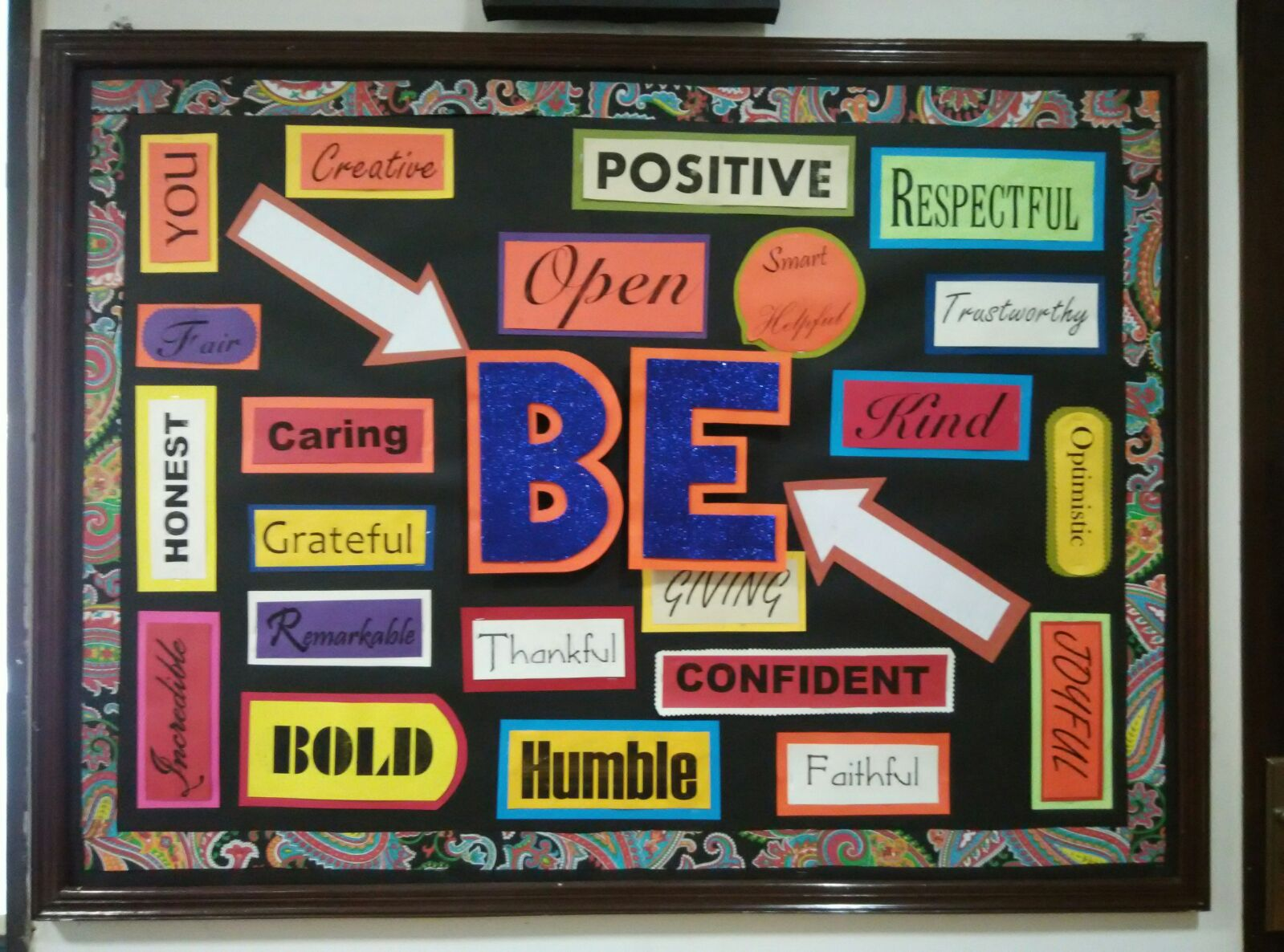 ... bulletin boards for elementary schools: Bulletin Board for positive