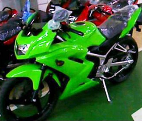 kawasaki ninja 250 photo wallpaper