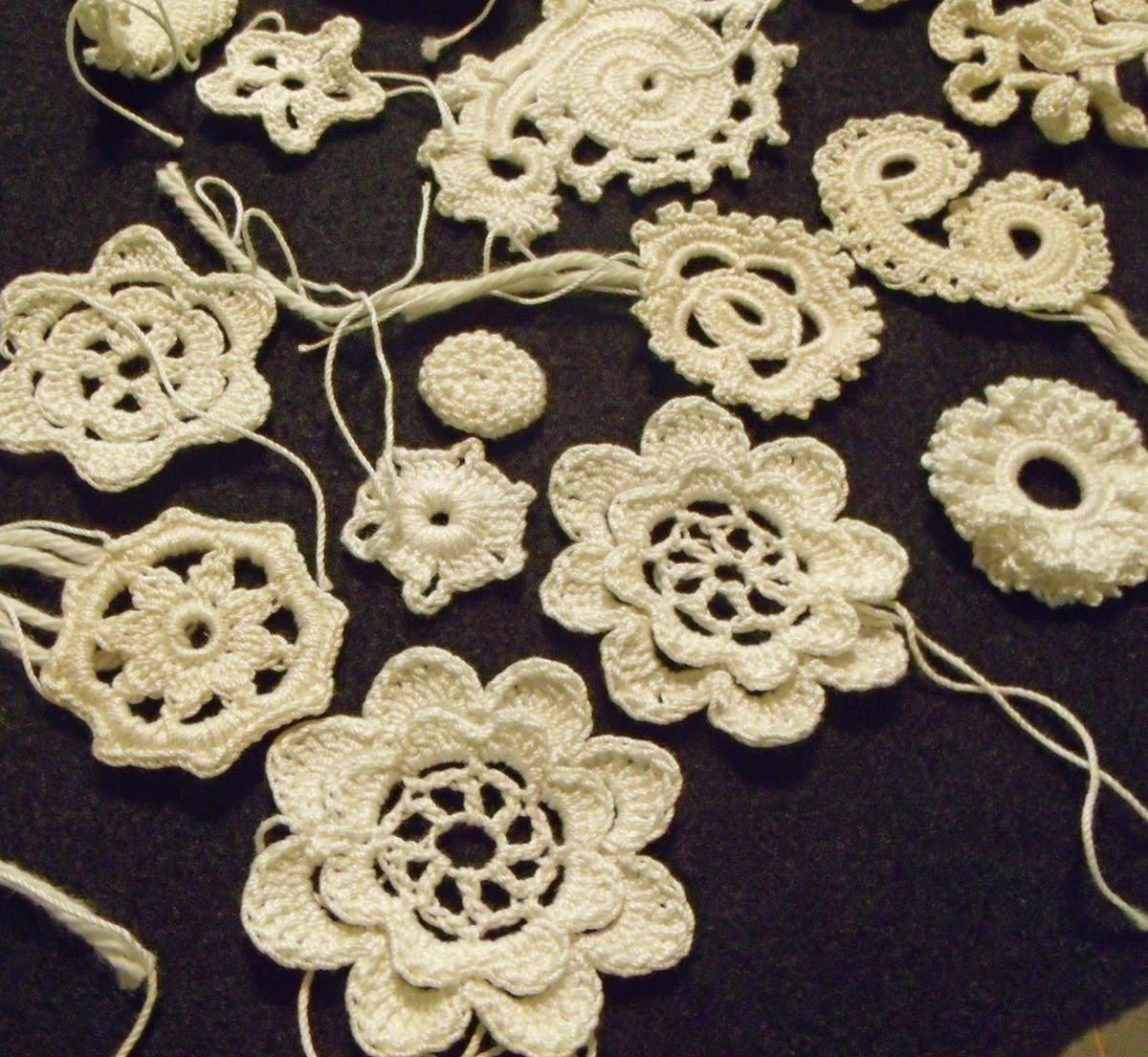 Stitched Musings: Irish Crochet