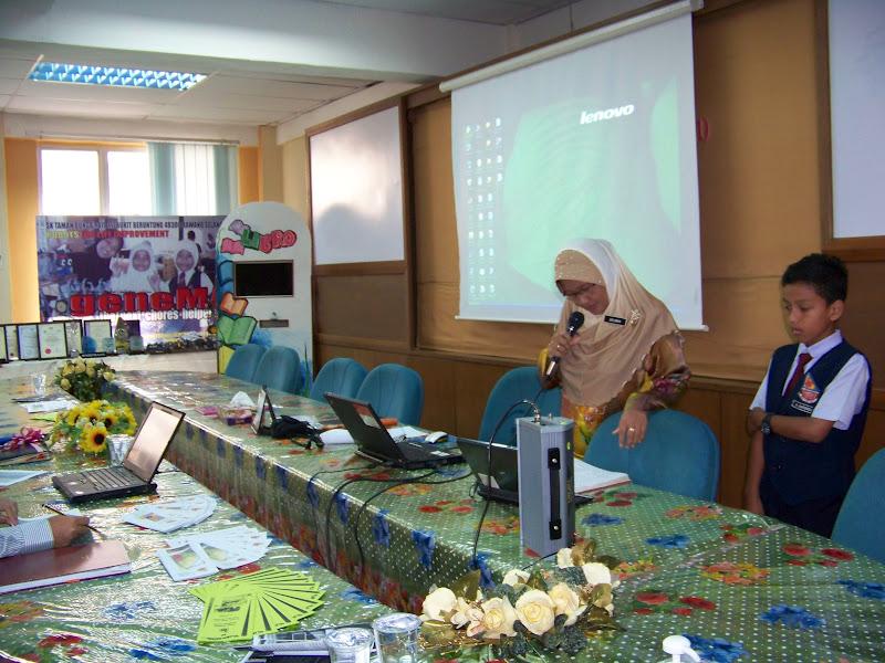 Wakil Murid Membacakan Doa Pembuka Majlis