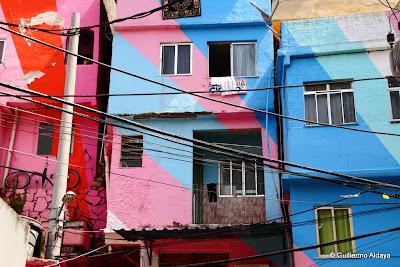 Morro Dona Marta, Botafogo, Rio de Janeiro, Brasil.