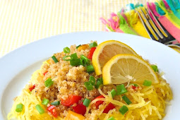 Warm Roasted Spaghetti Squash and Quinoa SaladWarm Roasted Spaghetti Squash and Quinoa Salad