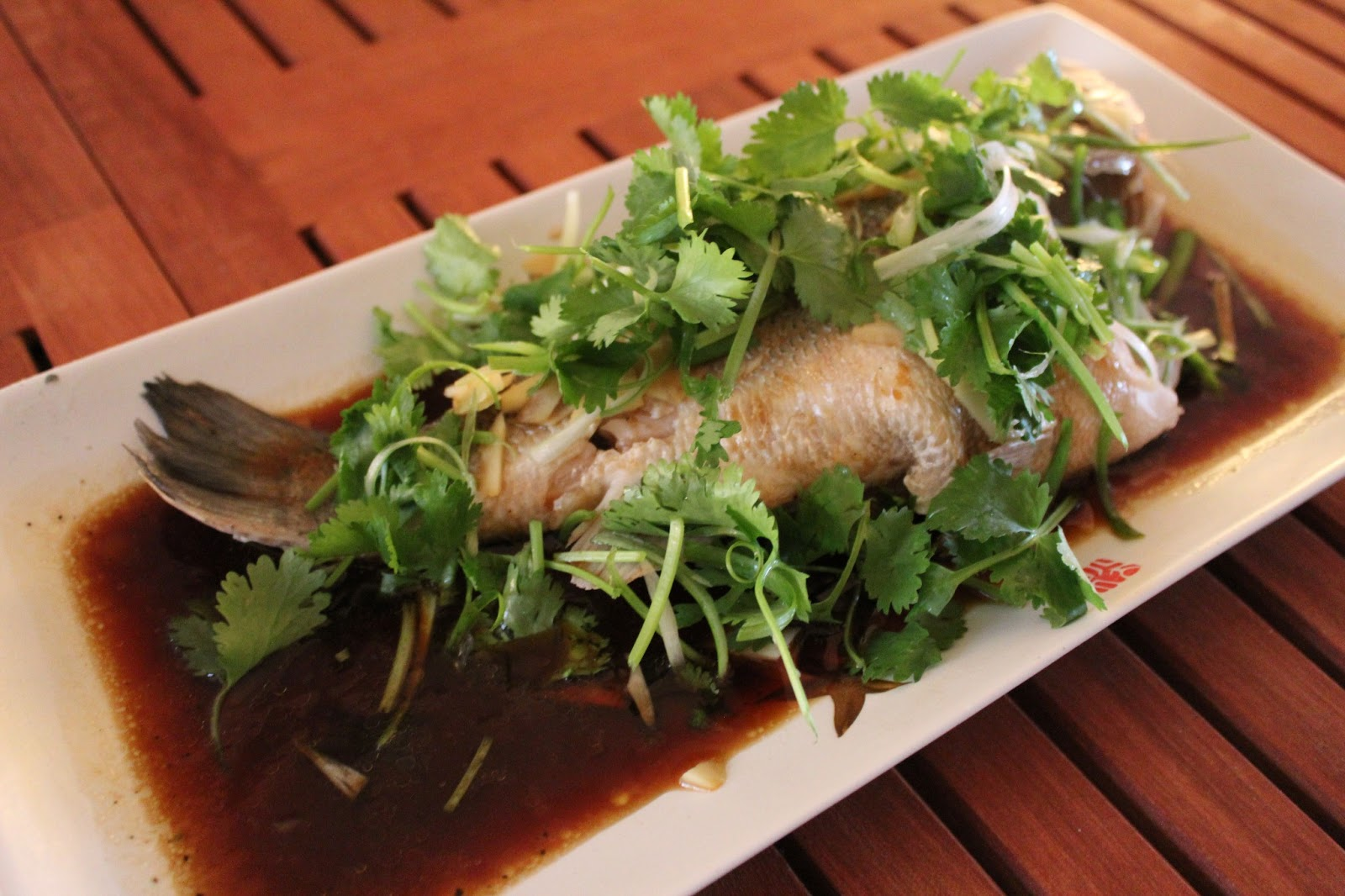 Forty second avenue asian style steamed fish for How to steam fish
