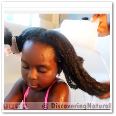 How to Wash Kids Natural hair