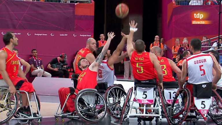 Palabras a punto las medallas que casi no cuentan - Baloncesto silla de ruedas ...