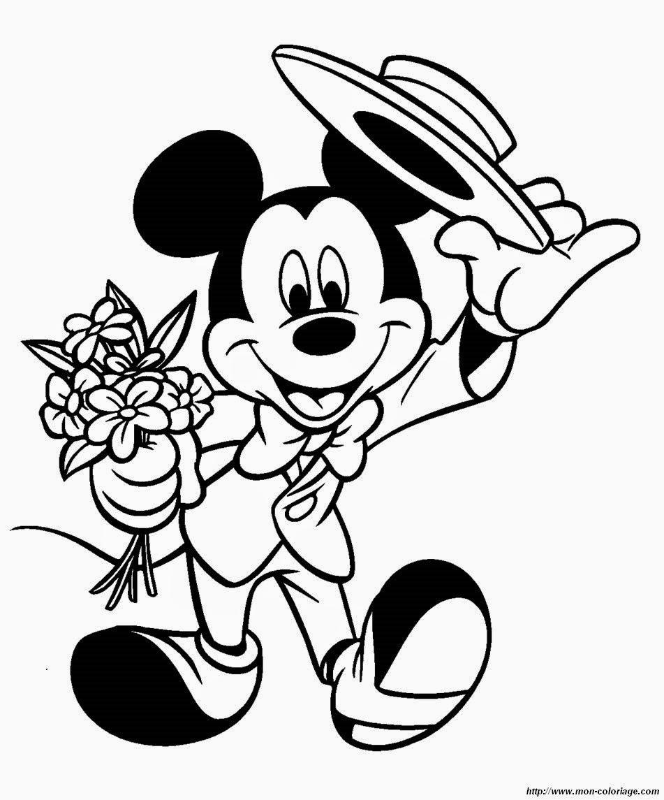 Erfreut Baby Micky Maus Und Pluto Malvorlagen Zeitgenössisch ...