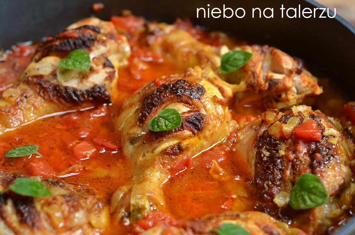 Udka Z Kurczaka W Pomidorach Curry Niebo Na Talerzu