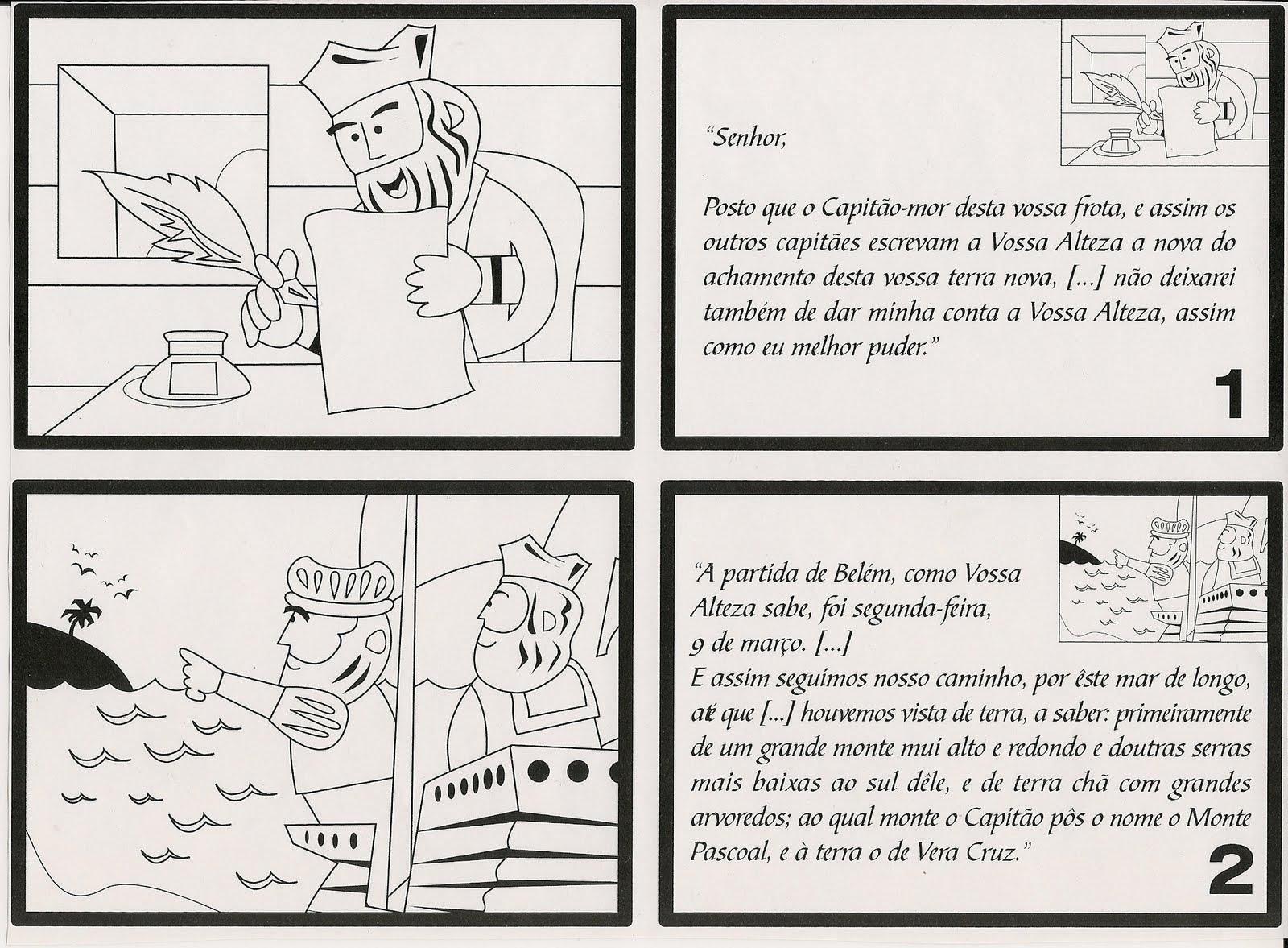 Coisas da Romina: Carta de Pero Vaz de Caminha