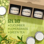 Spa Day Candle Set