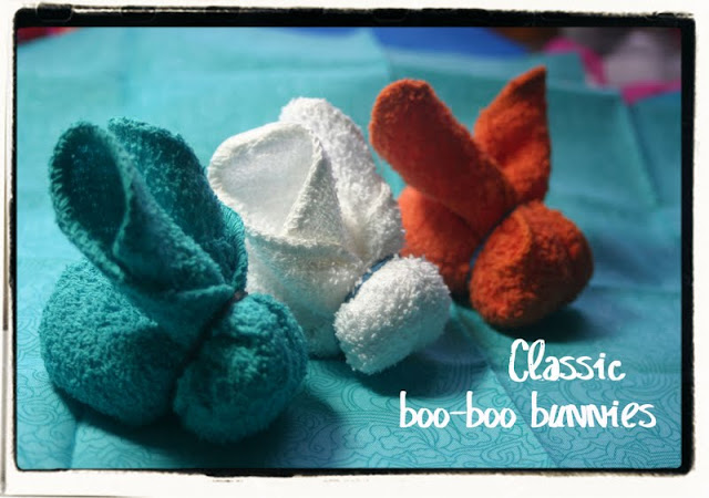 folding towel tutorial: bunny for easter