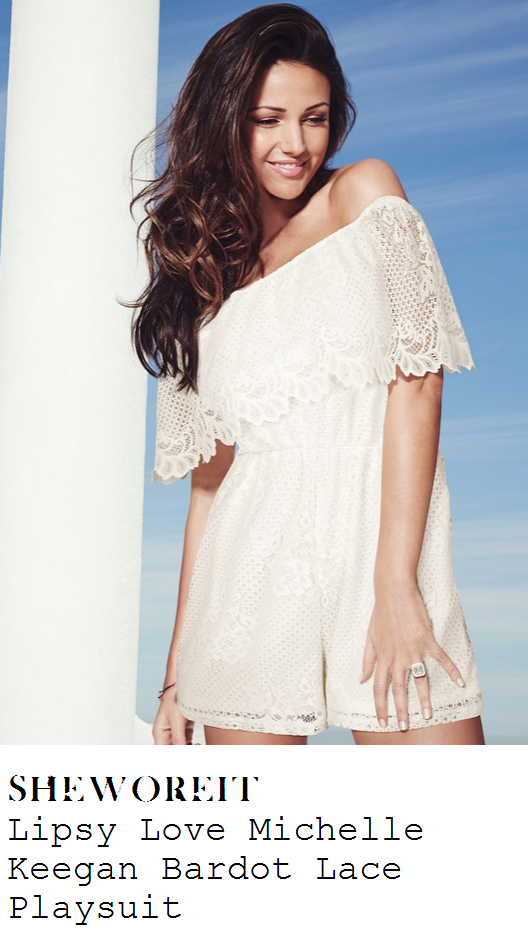 nadia-forde-white-lace-off-shoulder-playsuit-ibiza