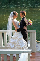 Taking in the moment on the dock at Sanders Estate