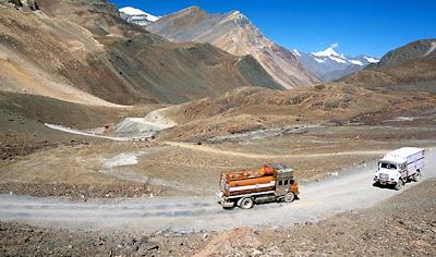 Rodovia Leh–Manali - Índia