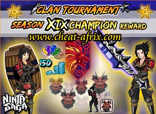 Jual Char Ninja Saga (Clan Reward Collection)
