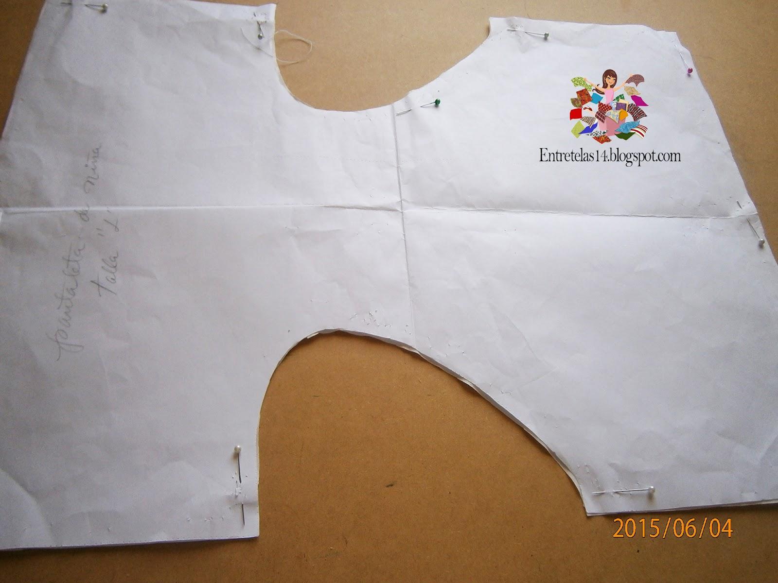 Como hacer una panty de niña ~ A coser Patrones y mas