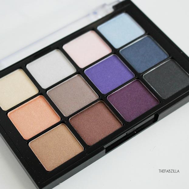 Viseart Shimmer Eyeshadow Palette Bridal Satin Review