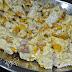 Scrambled Egg with Corn and Tuna Flakes