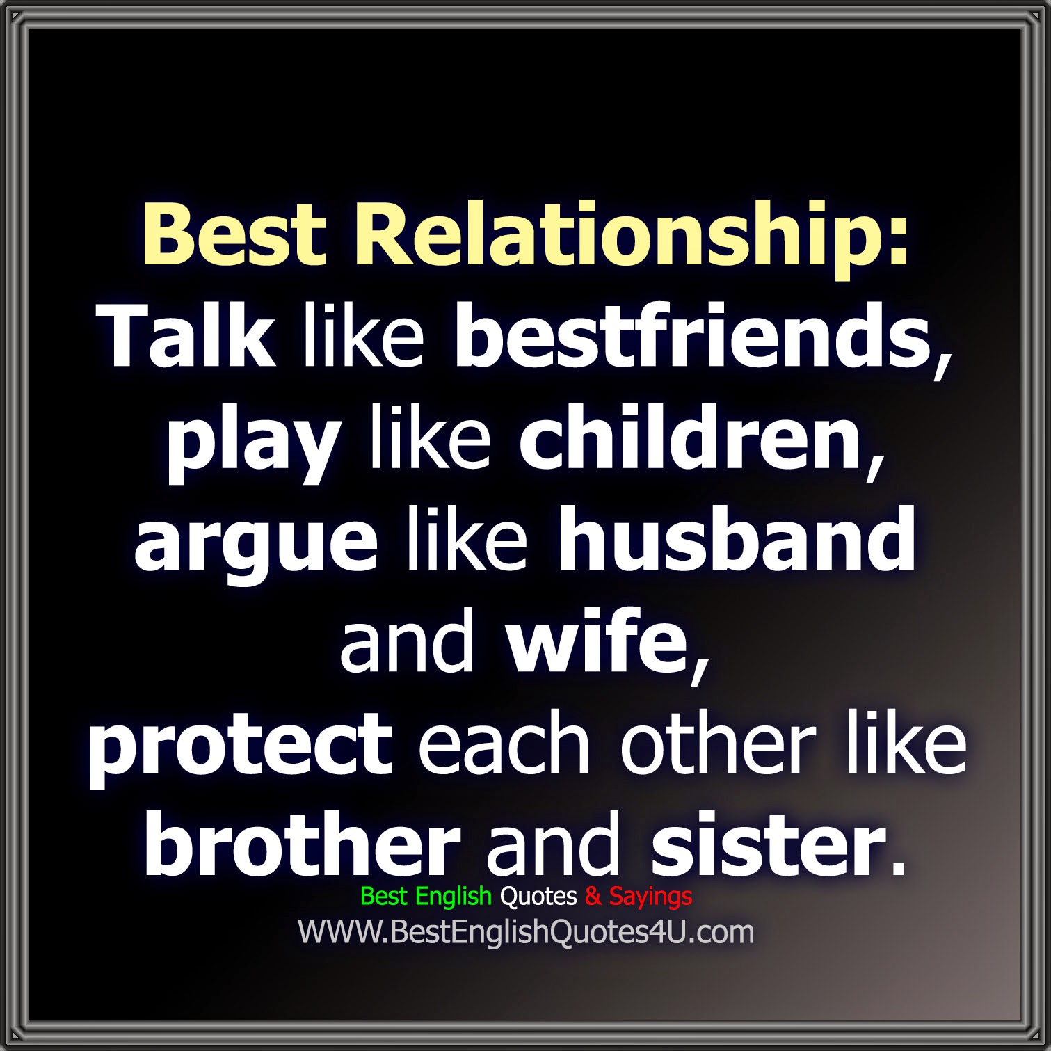 Best Relationship Best English Quotes Sayings