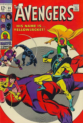 Avengers #59, Yellowjacket's first appearance, John Buscema