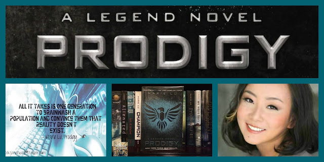 "High School Book Group Reads ""Prodigy"" for June 25, 2015"