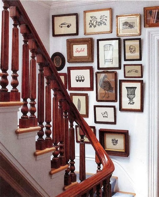 Pictures / Paintings on Stair Wall