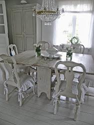 Vår vita matsal