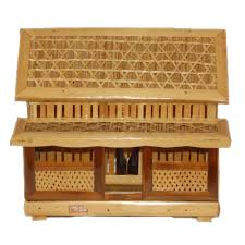 Bamboo Traditional Etnic Home Miniature Art Craft