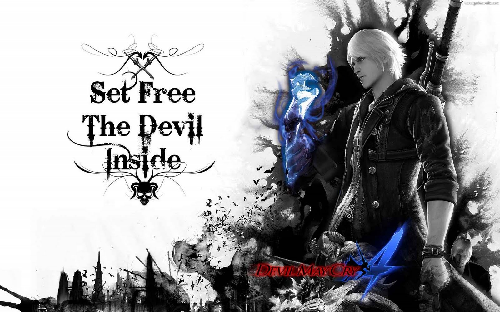 Set Free the Devil | Gothic Wallpaper Download