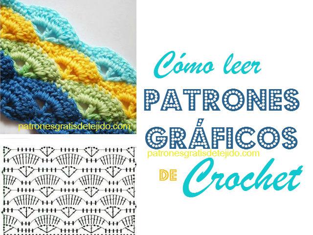 Cómo comprender los patrones gráficos de crochet / Aprende Crochet ...