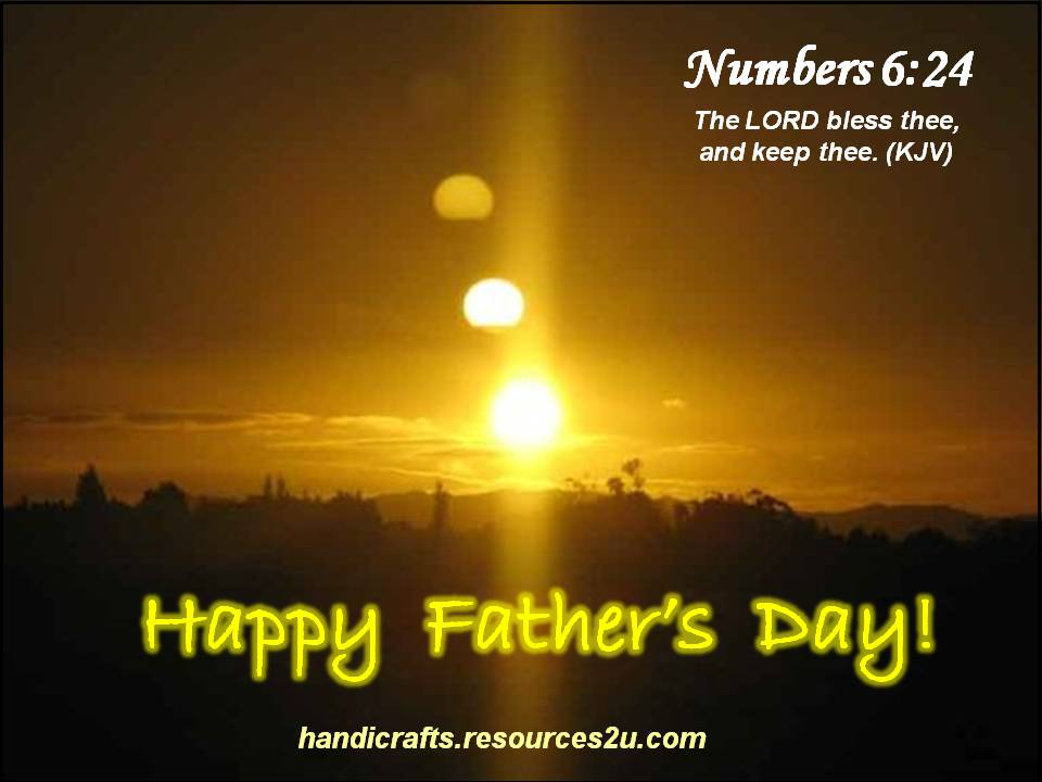Believers encouragements christian fathers day card with kjv bible free christian fathers day card or poster with bible verse m4hsunfo