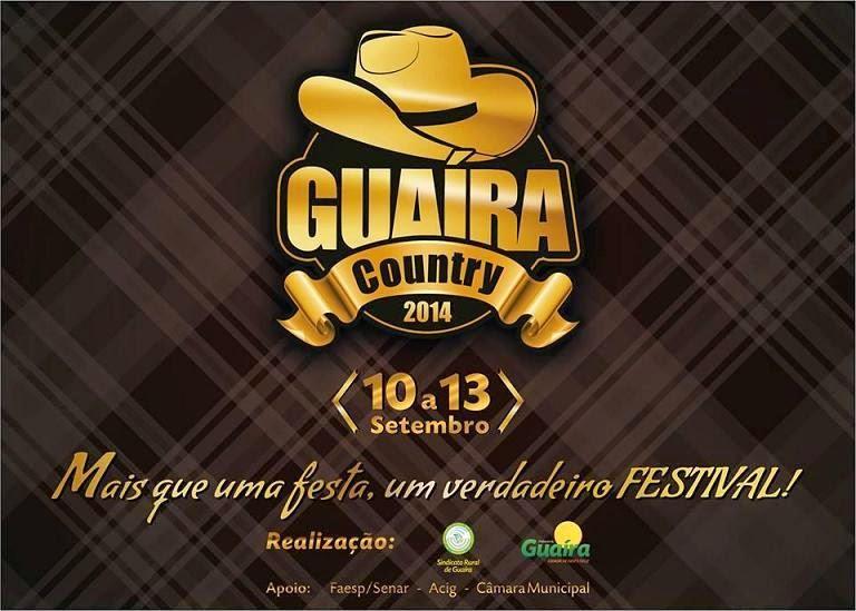 Guaíra Country Festival Sertanejo 2014