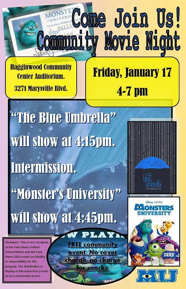 Free movie night this Friday