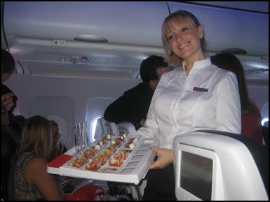 virgin america flight attendant salary