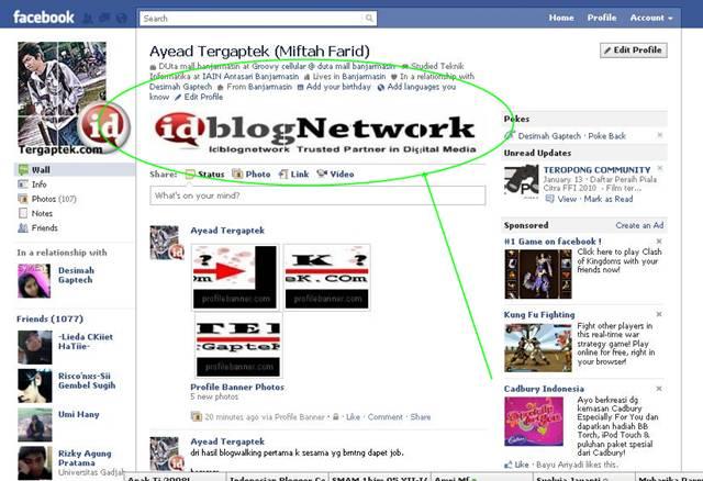 Cara Membuat Tampilan Profil Fb Keren
