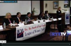 2012 CANDIDATE FORUMS AND ISSUE FORUMS ON VIDEO