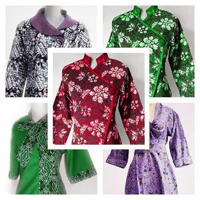 Model Baju Batik Kantor untuk Wanita Kerja Modern Gambar